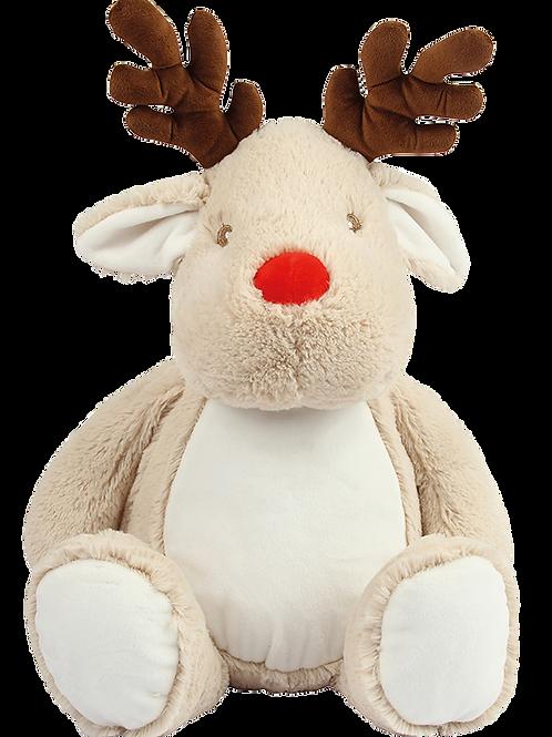 Personalised Embroidered Reindeer