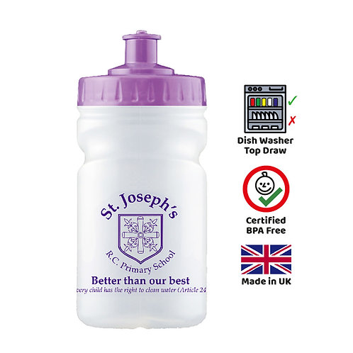 300ML Grip Sports Water Bottles