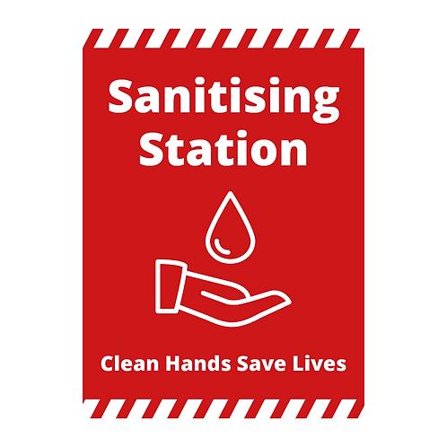 'Sanitising Station' Signage