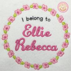 6. I Belong to Flower Design