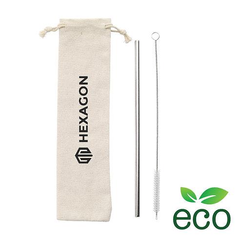 ECO Metal Straw set