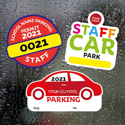Static Cling Window Stickers