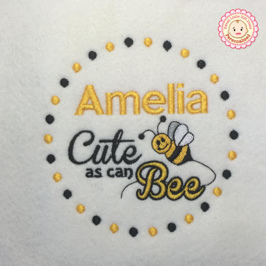 7. Cute as can Bee