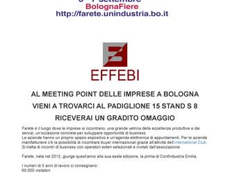 EFFEBI sarà presente al FARETE 2017