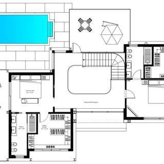 12 Planimetria architettonico piano primo.JPG