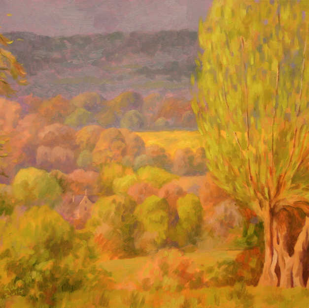 Landscape with Pollard Willows