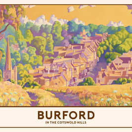 Burford Railway Poster