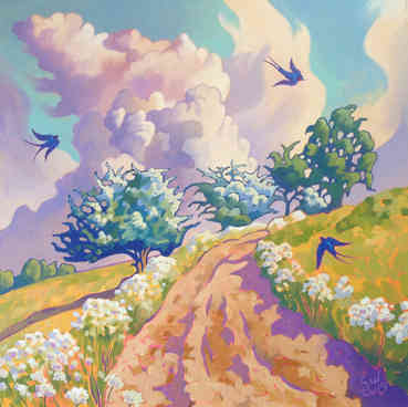 The First Swallows of Summer