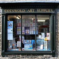 Guy Warner Artist at Cotswold Art Supplies