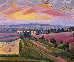 The Icknield Way (1912) Spencer Gore English artist