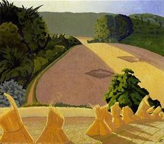 The Cornfield (1918) John Nash English artist