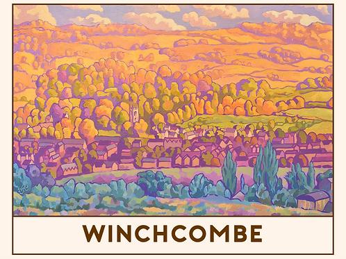 'Winchcombe' Railway Poster Print