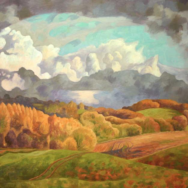 Landscape after Rain