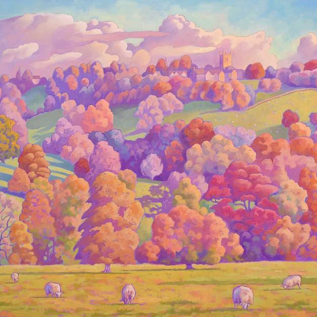 Autumn on the Hillside