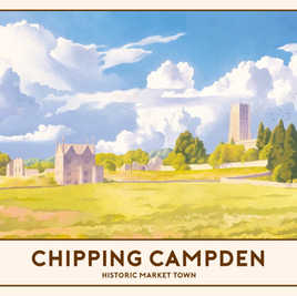Chipping Campden Railway Poster
