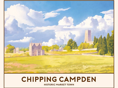 'Chipping Campden' Signed Limited Edition Railway Poster