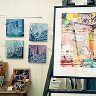 Guy Warner Artist at Burford Art Gallery