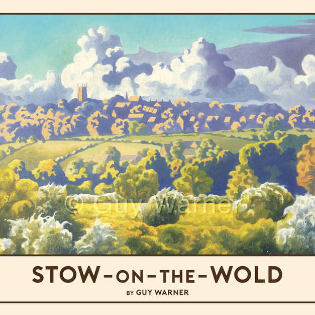 Stow-on-the-Wold Railway Poster