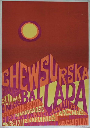 1101 - The Chewsurska Ballad