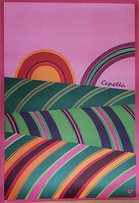 1244 D – Cepelia (Stripy Sunrise)