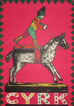 1157 - Circus Horse