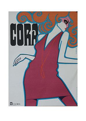 1343 - Cora Fashion House Advertisement