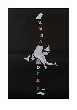 1269 - Circus Double Man on Black