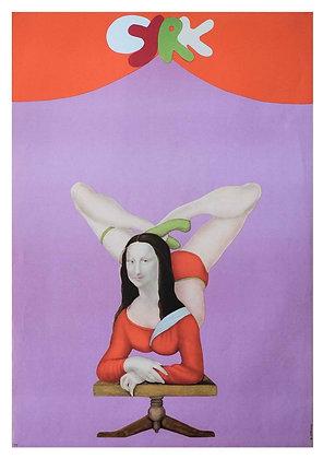 1254 - Circus Mona Lisa