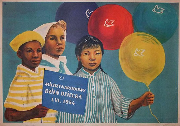 0245 - International Children's Day 1954