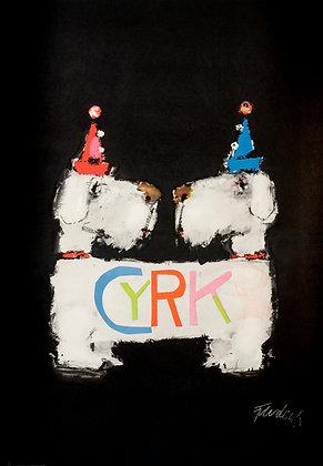1756 - Circus Dogs