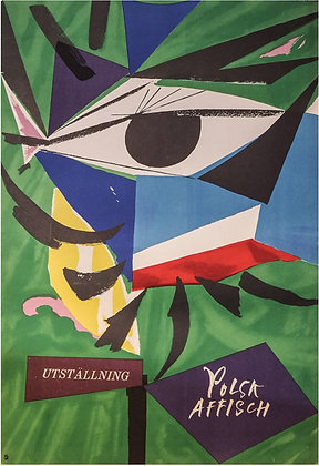 1037 – Polish Poster Exhibition (Swedish)