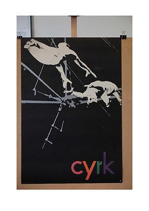 1300 - Black & White Trapeze Artists