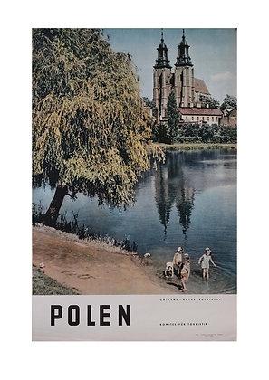 1454 - Poland Tourist Poster (German)