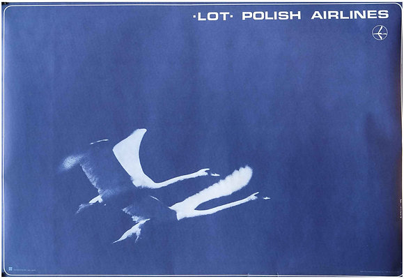 0753 - LOT Polish Airlines (Blue Cranes)