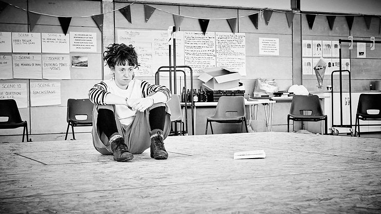 Our Country's Good Rehearsals_B&W_Mark D