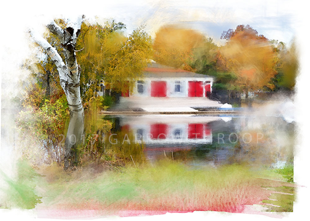 BOATHOUSE ON THE CHARLES
