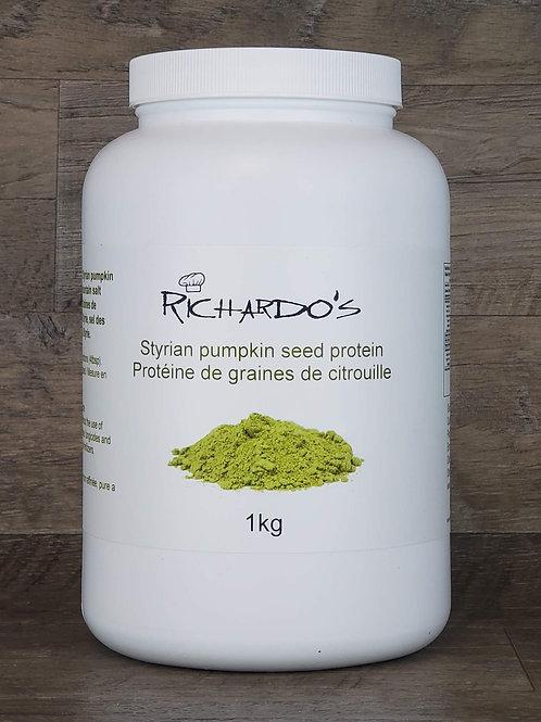 Protein Powder-1 KG: Styrian (Austrian) Pumpkin Seed Protein
