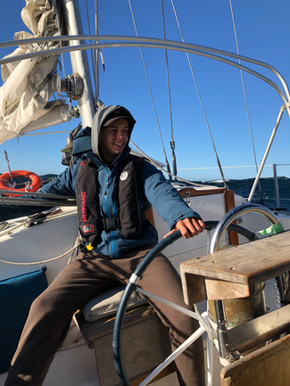This is my story aboard Sunpiper.