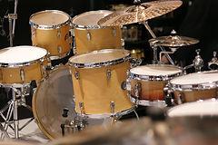 Drewniany zestaw perkusyjny