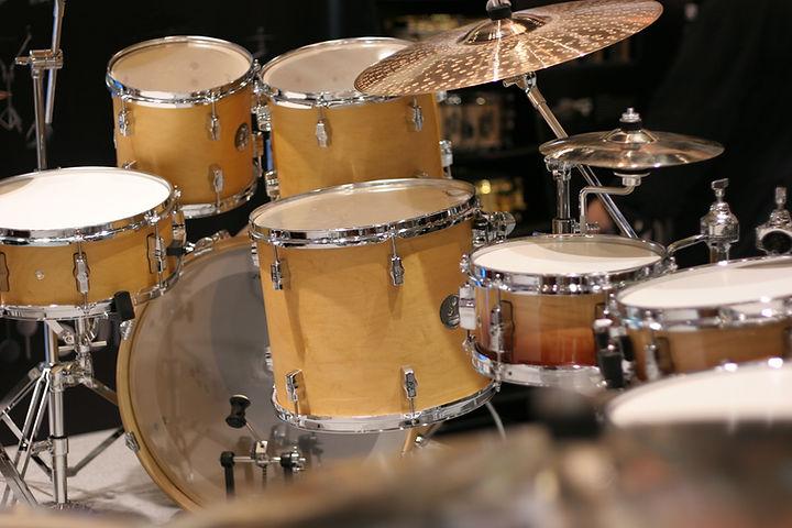 Wooden Drum Set