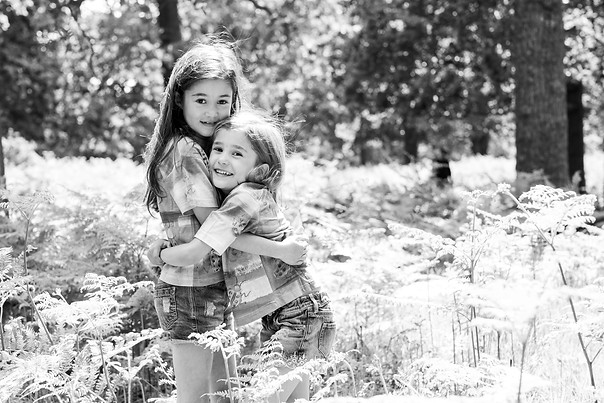 Photography of sisters
