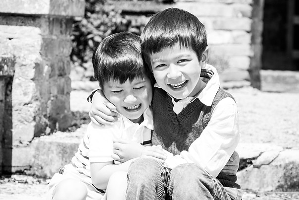 Happy siblings photography