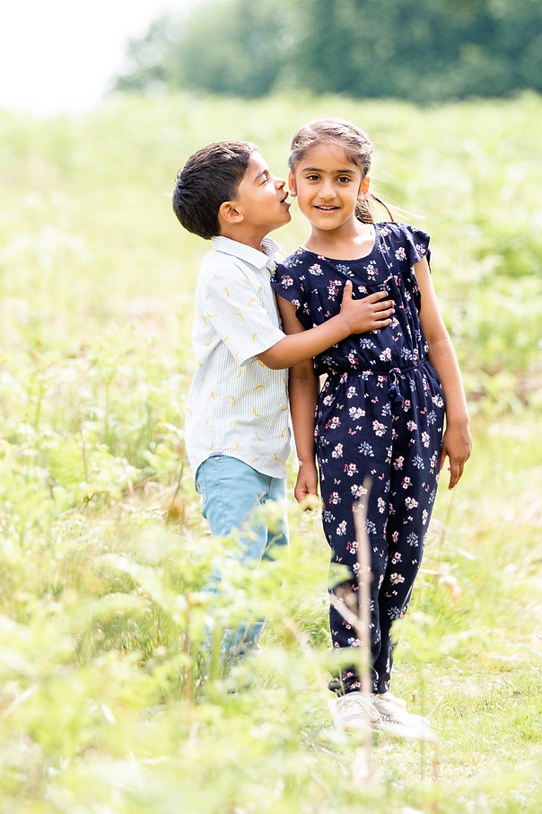 Sibling outdoor photography