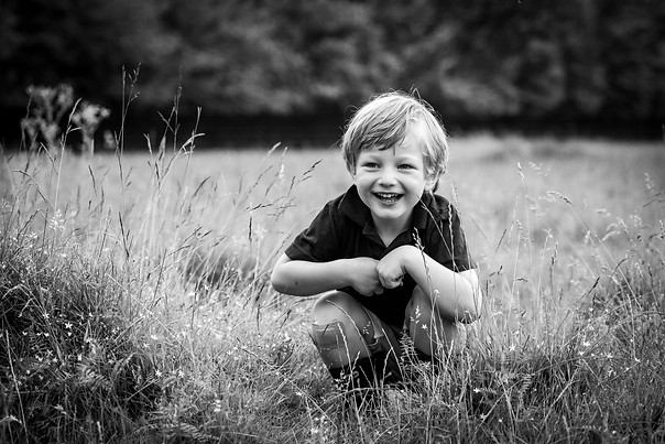 Documentary style outdoor child photography