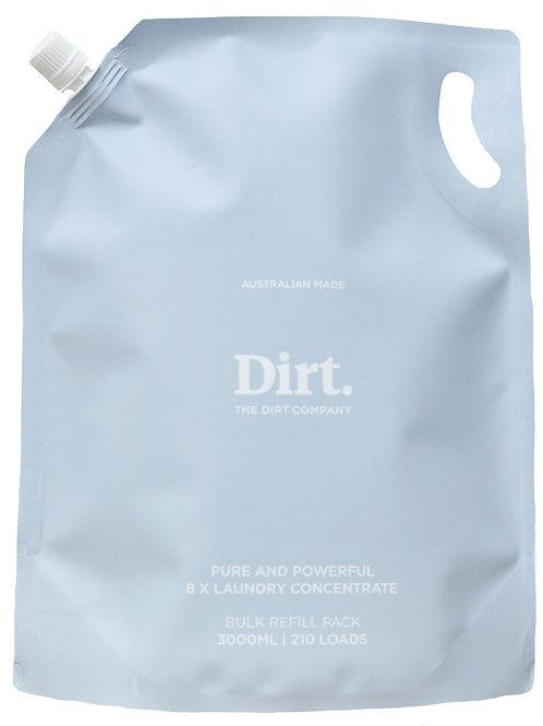 Dirt Laundry Liquid Bulk Refill 3L