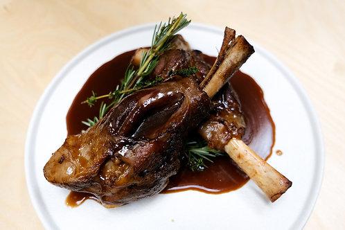 Lamb Shank Dinner $32