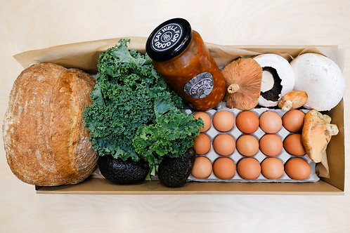 Vegetarian Big Breakfast Box