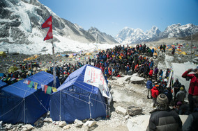 NEPAL - Advance screening of Sherpa for ongoing relief