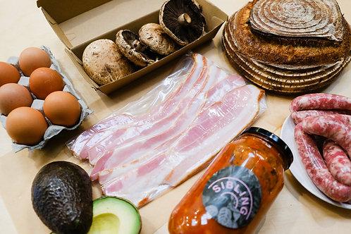 Bacon & Chipolata Breakfast Box