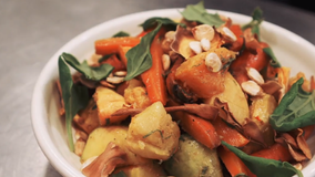 ZERO WASTE RECIPE - Kinfolk Whole Pumpkin Salad for The Great Local Lunch